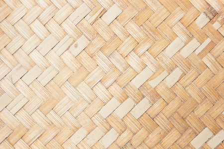 44983172 - close up woven bamboo pattern.