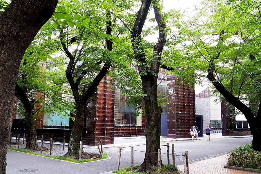 musashino art university library sou fujimoto exterior zero