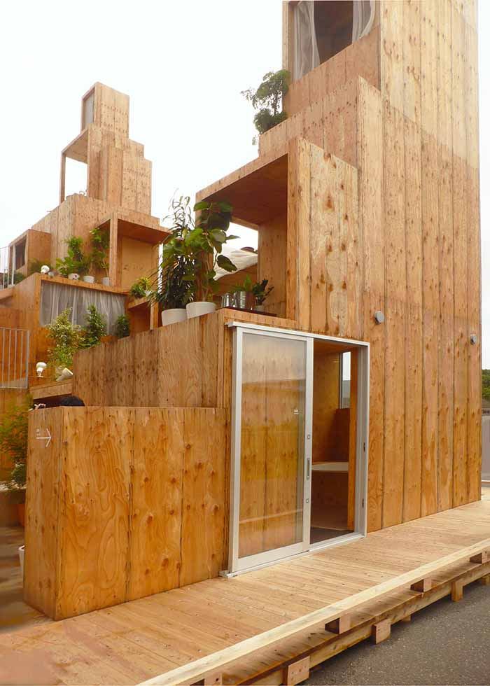 The Rental Space Tower designed by Sou Fujimoto