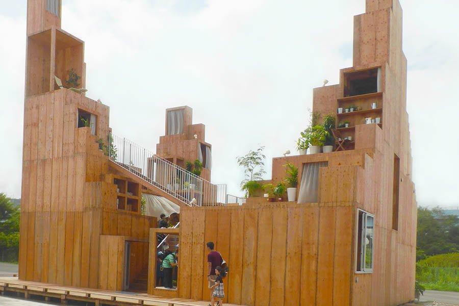 Rental Space Tower designed by Sou Fujimoto
